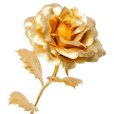 Роза 26 см., Gold Leaf Италия