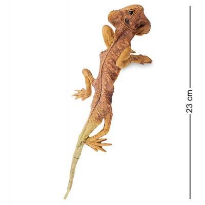 "Фигурка ""Ящерица"", 21,5x7,5x4,5 см., полистоун"