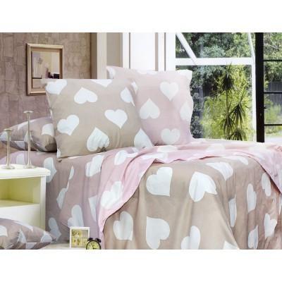 Комплект постельного белья Евро, Бязь-100% хлопок (ЕТ0702)