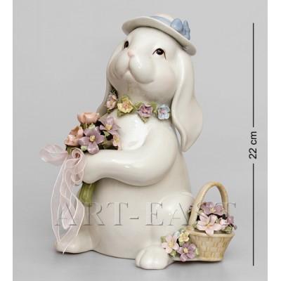 "Музыкальная фигурка ""Кролик"", 15,5x15,5x21,5 см., Pavone, Италия"