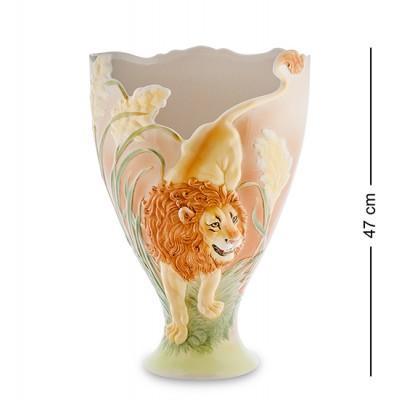 """Статуэтка-ваза """"Лев"""" 47 см., фарфор Pavone, Италия"""