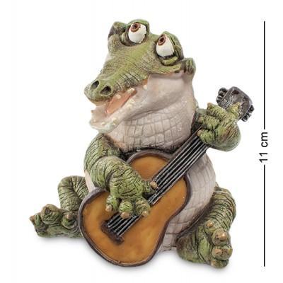 """Фигурка """"Крокодил"""" 11x10x11 см., полистоун Sealmark, США"""