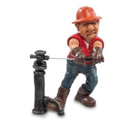 """Фигурка """"Нефтяник"""" 10,5x9x15 см., полистоун Warren Stratford Канада"""