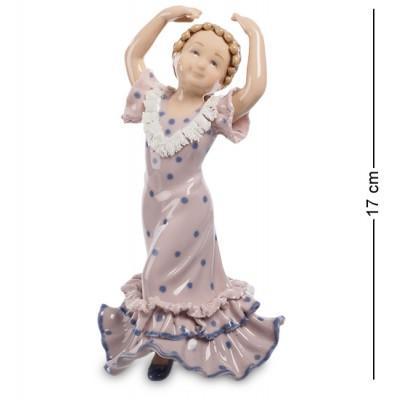 """Фигурка """"Танцующая девочка"""" 9,5x10x17 см., Pavone, Италия"""