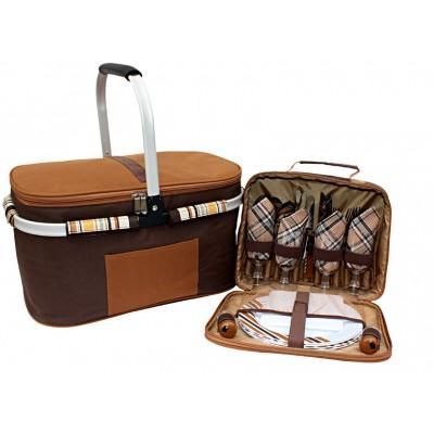 Набор для пикника и изотерм. сумка Time Eco ТЕ-432 BS