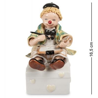 """Музыкальная фигурка """"Клоун"""" 10x11,5x16,5 см., Pavone, Италия"""