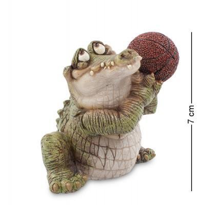 """Фигурка """"Крокодил"""" 8x7x7 см., полистоун Sealmark, США"""