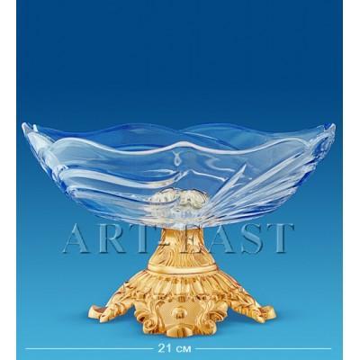 Фруктовница хрустальная 24x23,5x13 см., Crystal Temptations, США