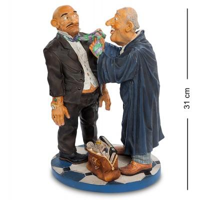 "Статуэтка ""Юрист"" 21x16x31 см., полистоун Parastone, Нидерланды"