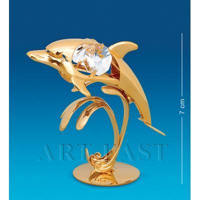 "Фигурка ""Дельфин"" 6x3x7 см., Crystal Temptations, США"