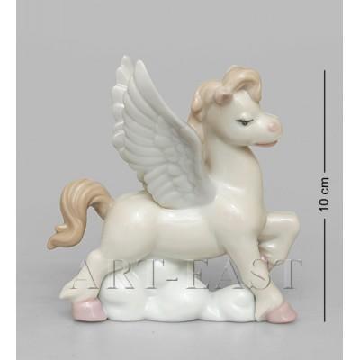 """Фигурка """"Лошадка-ангелочек"""" 9,5x6x10 см., фарфор Pavone, Италия"""