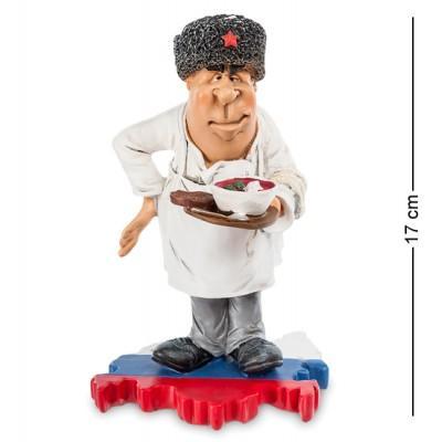 "Статуэтка ""Шеф-повар Россия"" 11x10x17 см., полистоун Warren Stratford Канада"
