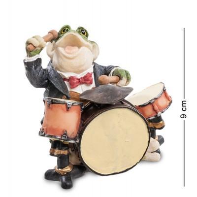 Фигурка Лягушка-муз. 10x9x9 см., полистоун Sealmark, США