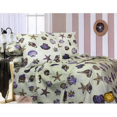 Комплект постельного белья Евро, Ранфорс (ЕР0019)