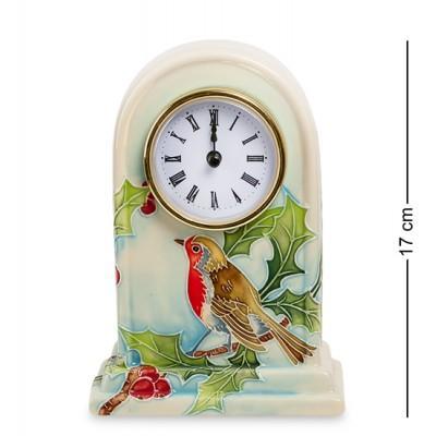 Настольные часы 11,5x7,5x17 см., фарфор Pavone, Италия