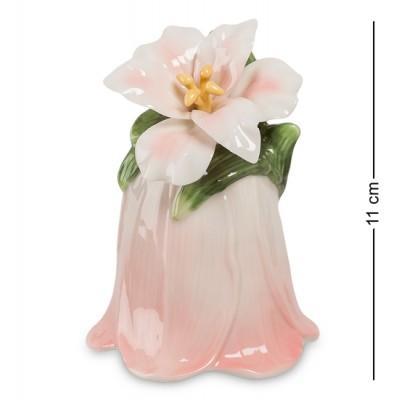 "Колокольчик ""Райский цветок"" 8x8x11 см., Pavone, Италия"