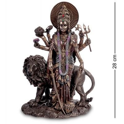 """Статуэтка """"Богиня Дурга - защитница богов и мирового порядка"""", 19,5х12х28 см., полистоун Veronese, Гонконг"""