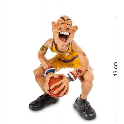 "Фигурка Баскетболист ""В предвкушении..."" 12x10x16 см., полистоун Warren Stratford Канада"
