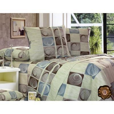 Комплект постельного белья Полуторный, Бязь-100% хлопок (1.5-сп.ЕТ0227)