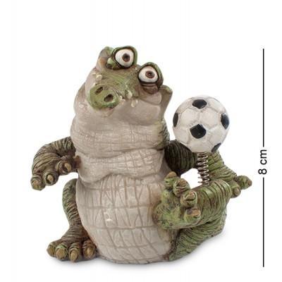 """Фигурка """"Крокодил"""" 8,5x7x8 см., полистоун Sealmark, США"""