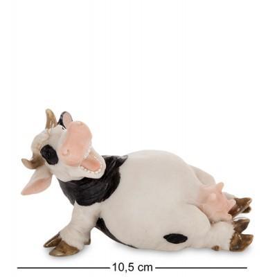 """Фигурка """"Корова"""" 10,5x6x6,5 см., полистоун Sealmark, США"""