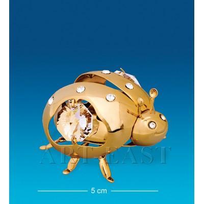 "Фигурка ""Божья коровка"" 5x4,5x3 см., Crystal Temptations, США"