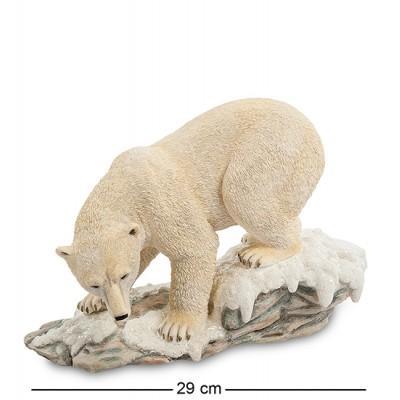 "Статуэтка ""Белый медведь"", 29х13х19 см., полистоун Veronese, Гонконг"