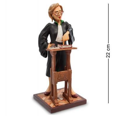 "Статуэтка ""Адвокат"" 9x9x22 см., полистоун Forchino, Франция"