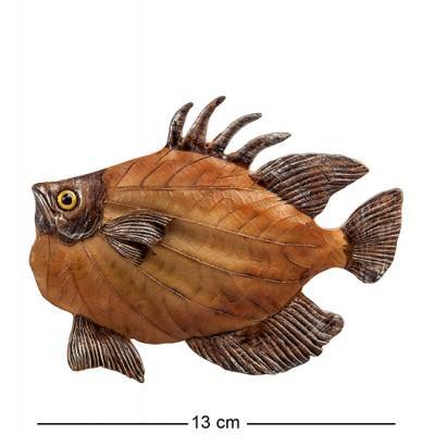 "Фигурка ""Рыбка"" 13x1,5x10,5 см., полистоун"