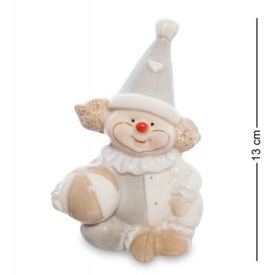 "Фигурка ""Клоун"", 9,5х7х13 см., фарфор"