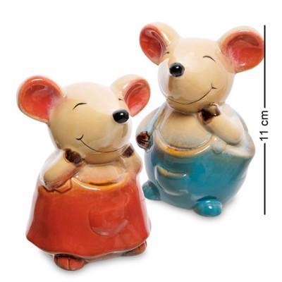 "Комплект копилок 2 шт. ""Мышки"", 11 см"
