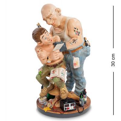 "Статуэтка ""Тату-мастер"" 18x16x30 см., полистоун Parastone, Нидерланды"