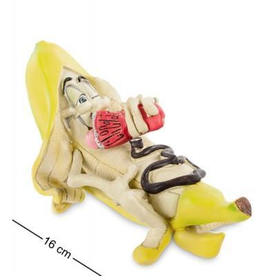 """Фигурка """"Банан в шоколаде"""", 16x9x8 см., полистоун Warren Stratford, Канада"""