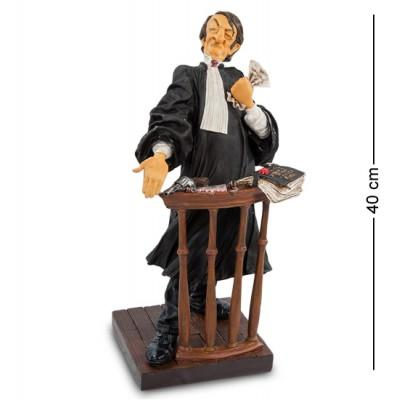 "Статуэтка ""Адвокат"" 21x21x40 см., полистоун Forchino, Франция"