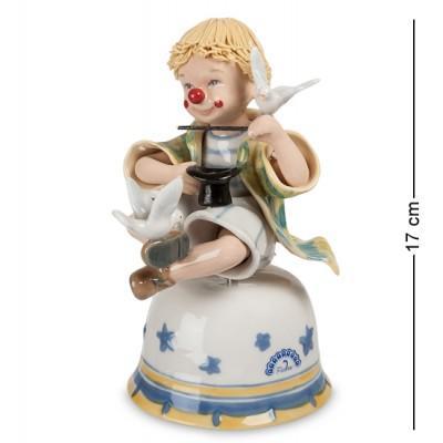 """Музыкальная фигурка """"Клоун"""" 10x13,5x17 см., Pavone, Италия"""