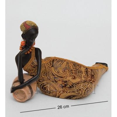 "Фигурка ""Африканская леди"" 12x27x26 см., полистоун"