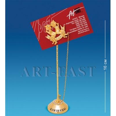 """Держатель для визиток """"Близнецы"""" 4x4x16 см., Crystal Temptations, США"""