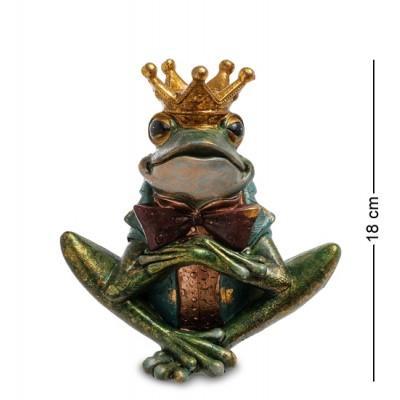 """Статуэтка-подсвечник """"Лягушка"""" 17x11,5x18 см., полистоун Noble Style"""