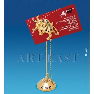 "Держатель для визиток ""Телец"" 5x4x16 см., Crystal Temptations, США"