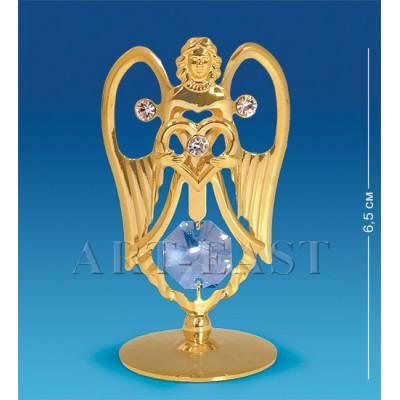 "Фигурка ""Ангел с сердцем"" 3,5x3x6,5 см., Crystal Temptations, США"