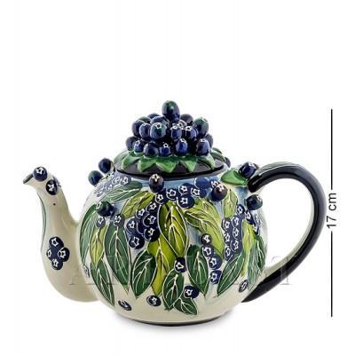 """Заварочный чайник """"Голубика"""" 1.5 л., Blue Sky, Италия"""