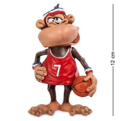 "Фигурка Обезьяна ""Баскетболист"" 7,5x5,5x12 см., полистоун Warren Stratford Канада"