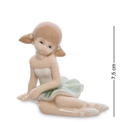 "Фигурка ""Балерина"", 9х6х7,5 см., фарфор"