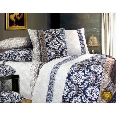 Комплект постельного белья Двуспальный, Бязь-100% хлопок (2-х сп.ЕТ0259)
