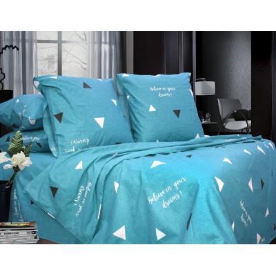 Комплект постельного белья Полуторный, Бязь-100% хлопок (1.5-сп.ЕТ0687)
