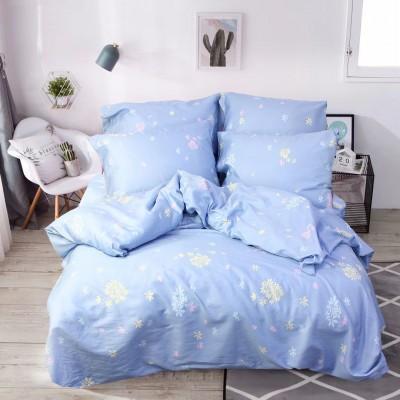 Комплект постельного белья Евро, Сатин (ЕС0183)