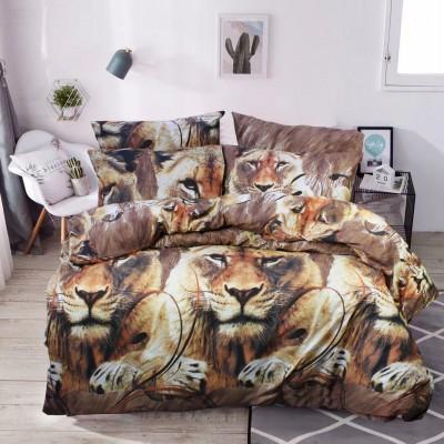 Комплект постельного белья Двуспальный, Микрофибра (2-х сп.ЕМІ0030)