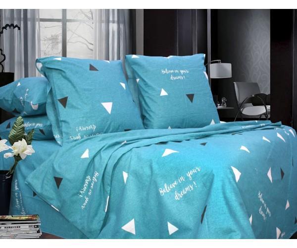 Комплект постельного белья Евро, Бязь-100% хлопок (ЕТ0687)