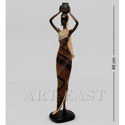 """Статуэтка """"Африканская леди"""" 49 см., полистоун"""