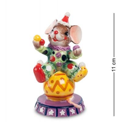 Фигурка Мышонок-Клоун 11 см., Pavone, Италия